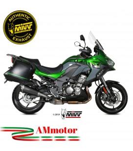 Mivv Kawasaki Versys 1000 Terminale Di Scarico Moto Marmitta Delta Race Black Omologato