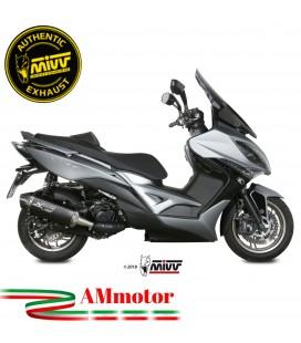 Mivv Kymco XCiting 400 Terminale Di Scarico Moto Marmitta Speed Edge Black