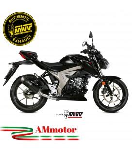 Scarico Completo Mivv Suzuki Gsx-S 125 Moto Terminale Gp Pro Carbonio