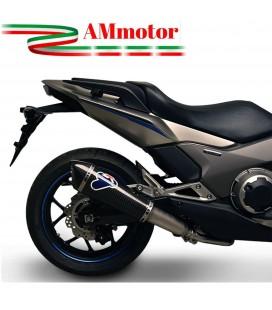 Terminale Di Scarico Termignoni Honda Integra Nc 700 S/X/D Marmitta Conical Inox Carbonio Moto Scooter Omologato