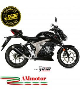 Scarico Completo Mivv Suzuki Gsx-S 125 Moto Terminale Gp Pro Black