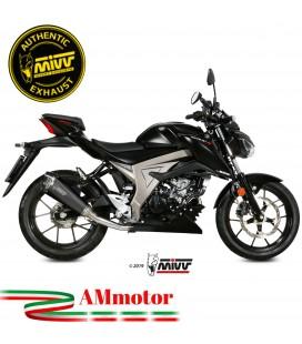 Scarico Completo Mivv Suzuki Gsx-S 125 Moto Terminale Delta Race Black