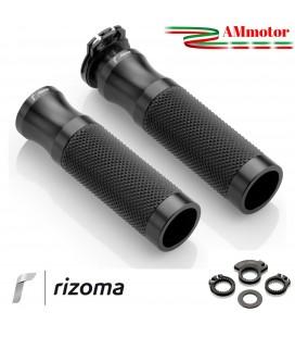 Manopole rizoma Honda Cbr 1000 RR Moto Vari Colori Sport Coppia Alluminio Gomma