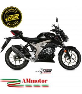 Scarico Completo Mivv Suzuki Gsx-S 125 Moto Terminale Suono Black