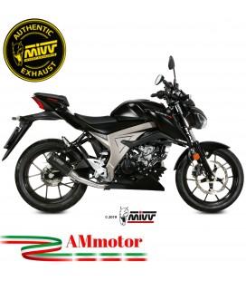 Scarico Completo Mivv Suzuki Gsx-S 125 Moto Terminale Mk3 Carbonio