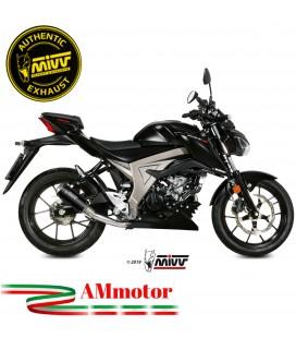Scarico Completo Mivv Suzuki Gsx-S 125 Moto Terminale Mk3 Black