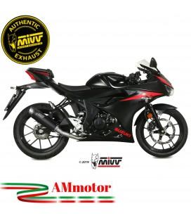 Scarico Completo Mivv Suzuki Gsx-R 125 Moto Terminale Gp Pro Black