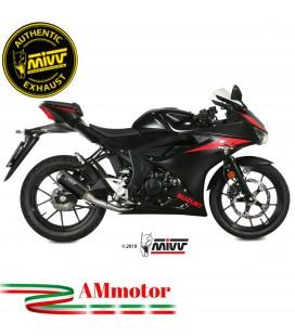Scarico Completo Mivv Suzuki Gsx-R 125 Moto Terminale Mk3 Black