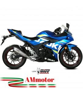 Mivv Suzuki Gsx 250 R Terminale Di Scarico Moto Marmitta Delta Race Inox Omologato