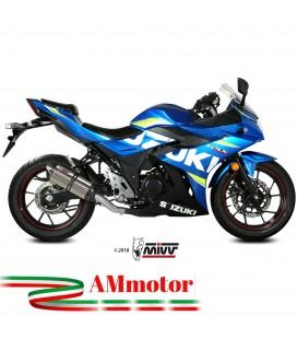 Mivv Suzuki Gsx 250 R Terminale Di Scarico Moto Marmitta Suono Inox Omologato