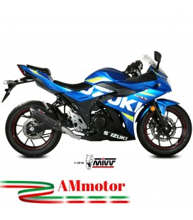 Mivv Suzuki Gsx 250 R Terminale Di Scarico Moto Marmitta Suono Black Omologato