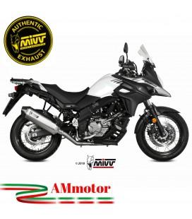 Mivv Suzuki Dl V-Strom 650 Terminale Di Scarico Moto Marmitta Speed Edge Inox