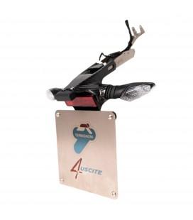Portatarga Termignoni Per Impianto Completo 4 Uscite Ducati Panigale V4 Titanio Carbonio