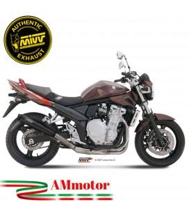 Mivv Suzuki Gsf 650 Bandit Terminale Di Scarico Moto Marmitta X-Cone Black