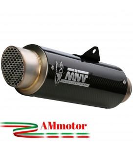 Mivv Suzuki Gsx-R 1000 Terminale Di Scarico Moto Marmitta Gp Pro Carbonio Omologato