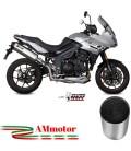 Mivv Triumph Tiger 1050 Sport Terminale Di Scarico Moto Marmitta Speed Edge Inox