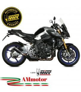 Mivv Yamaha Mt-10 Terminale Di Scarico Moto Marmitta Mk3 Black Omologato