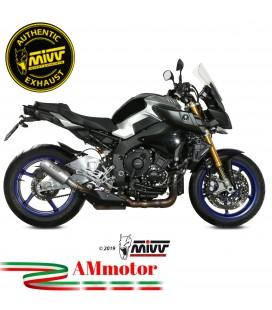 Mivv Yamaha Mt-10 Terminale Di Scarico Moto Marmitta Mk3 Inox Omologato