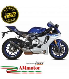 Mivv Yamaha Yzf 1000 R1 Terminale Di Scarico Moto Marmitta Suono Black Omologato