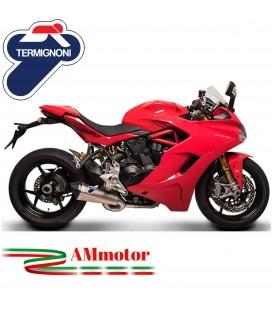 Terminale Di Scarico Con Corpo Finale Decat Racing Termignoni Ducati Supersport Marmitta Scream Elimina Kat