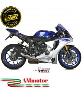 Mivv Yamaha Yzf 1000 R1 Terminale Di Scarico Moto Marmitta Mk3 Carbonio Omologato