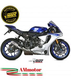 Mivv Yamaha Yzf 1000 R1 Terminale Di Scarico Moto Marmitta Mk3 Inox Omologato