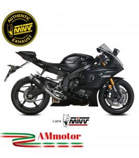 Mivv Yamaha Yzf 600 R6 Terminale Di Scarico Moto Marmitta Gp Pro Carbonio Alto Omologato