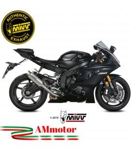 Mivv Yamaha Yzf 600 R6 Terminale Di Scarico Moto Marmitta Gp Pro Titanio Alto Omologato