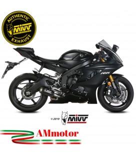 Mivv Yamaha Yzf 600 R6 Terminale Di Scarico Moto Marmitta Mk3 Carbonio Omologato