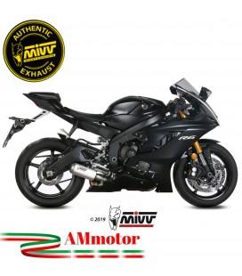 Mivv Yamaha Yzf 600 R6 Terminale Di Scarico Moto Marmitta Mk3 Inox Omologato