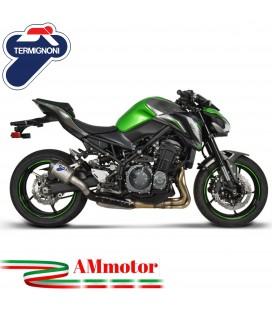 Termignoni Kawasaki Z 900 Terminale Di Scarico Moto Marmitta Relevance Titanio