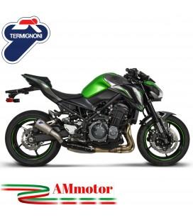 Termignoni Kawasaki Z 900 Terminale Di Scarico Moto Marmitta Gp2R-R Inox