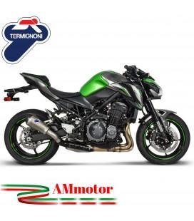 Termignoni Kawasaki Z 900 Terminale Di Scarico Moto Marmitta Relevance Conico Titanio