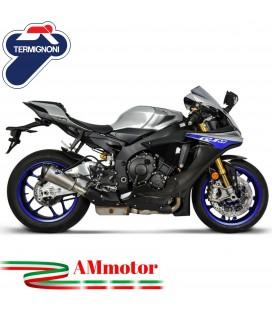 Termignoni Yamaha Yzf R1 Terminale Di Scarico Moto Marmitta Relevance Titanio