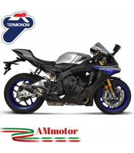 Termignoni Yamaha Yzf R1 Terminale Di Scarico Moto Marmitta Gp Carbonio