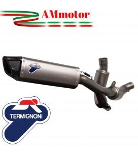 Impianto Di Scarico Completo Racing Termignoni Ducati Multistrada 950 Marmitta Force Acciaio Titanio