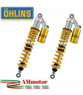 Doppi Ammortizzatori Ohlins Honda Cb 1300 03 - 2011 STX 36 Twin Sospensione Moto Molle Gialle