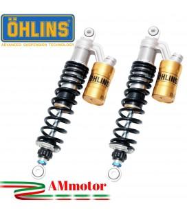 Doppi Ammortizzatori Ohlins Honda Cb 1300 03 - 2011 STX 36 Twin Sospensione Moto Molle Nere