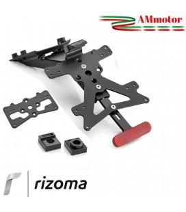 Portatarga Rizoma MT 09 Yamaha Regolabile Moto Completo Omologato