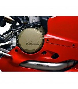 Impianto Di Scarico Completo Racing Termignoni Ducati Panigale 1199 Silenziatori Force Titanio
