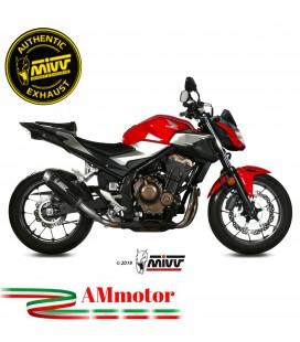 Mivv Honda Cb 500 F Terminale Di Scarico Moto Marmitta Gp Pro Carbonio Omologato