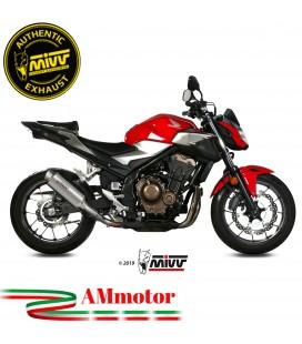 Mivv Honda Cb 500 F Terminale Di Scarico Moto Marmitta Gp Pro Titanio Omologato