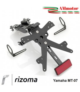 Portatarga Rizoma MT 07 Yamaha Regolabile Moto Completo Omologato
