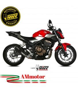 Mivv Honda Cb 500 F Terminale Di Scarico Moto Marmitta Mk3 Black