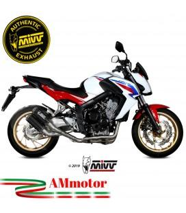 Scarico Completo Mivv Honda CB 650 F Moto Terminali Mk3 Carbonio