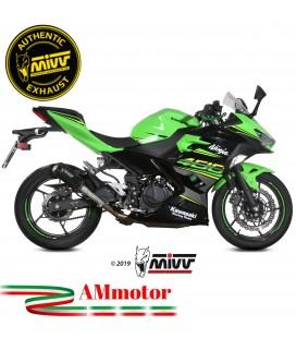 Mivv Kawasaki Ninja 400 Terminale Di Scarico Moto Marmitta Mk3 Black