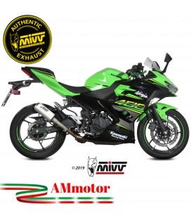 Mivv Kawasaki Ninja 400 Terminale Di Scarico Moto Marmitta Mk3 Inox