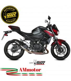 Mivv Kawasaki Z 400 Terminale Di Scarico Moto Marmitta Mk3 Carbonio