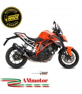 Mivv Ktm 1290 Superduke Terminale Di Scarico Moto Marmitta Oval Carbon Cap Omologato