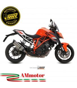 Mivv Ktm 1290 Superduke Terminale Di Scarico Moto Marmitta Suono Inox Omologato
